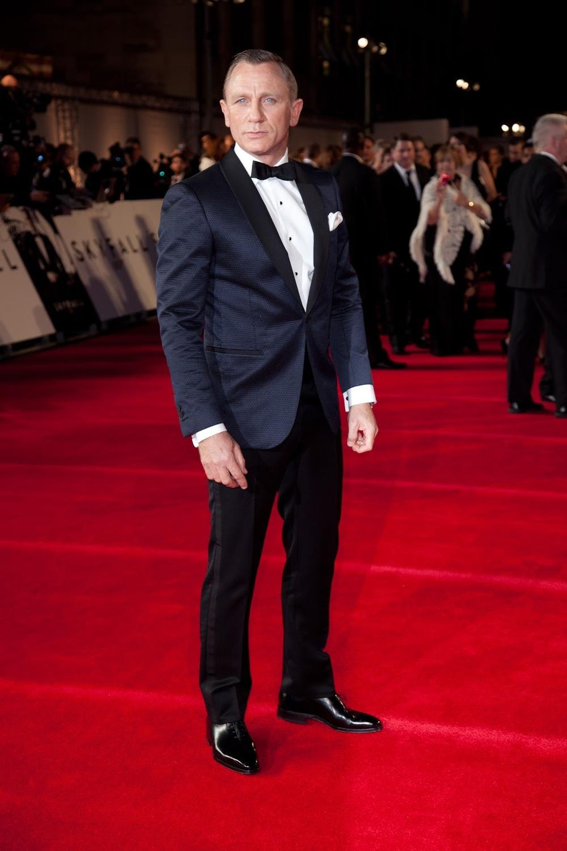 Daniel Craig - Enquanto que uns viveram seus melhores anose outros decaíramem 2012, Daniel Craig conseguiu permanecer no alto. No alto do estilo de um verdadeiro James Bond. Premieres e festivais foram o palco para este inglês moderno mostrar o seu talento também fora das telas.