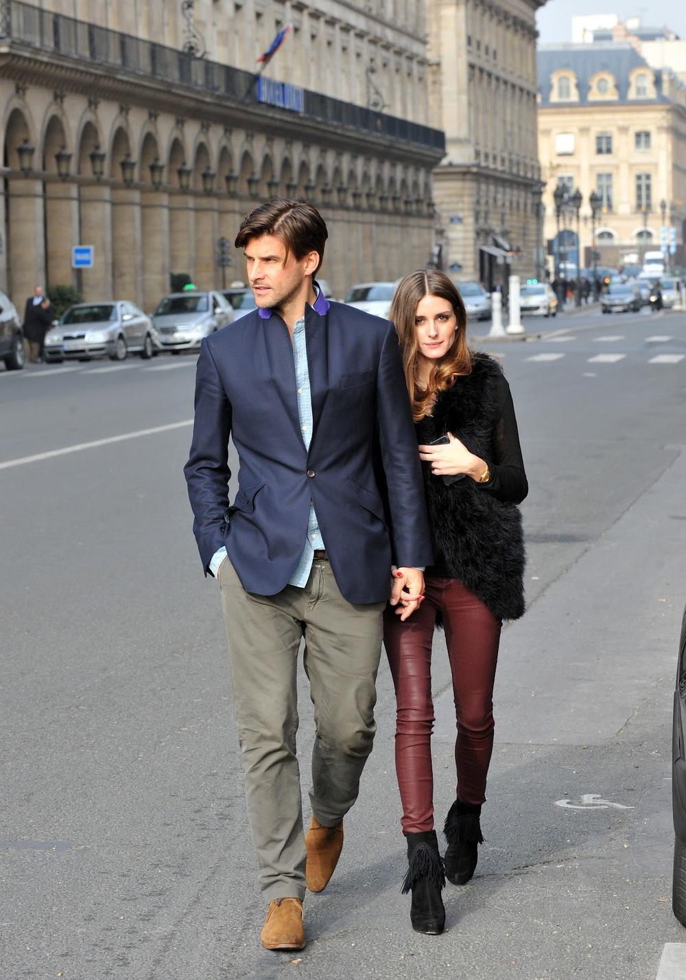 2# Johannes Huebl . Ser o companheiro de uma grande personalidade da moda é uma tarefa árdua. E Johannes consegue acompanhar sua   it girl Olivia Palermo com tremenda elegância, sempre com combinações inteligentes e nada espalhafatosas.