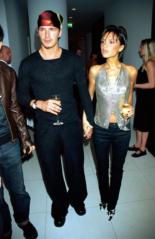 Deixando o couro um pouco de lado, Beckham comete outra falha: bandana na cabeça é coisa de pirata.