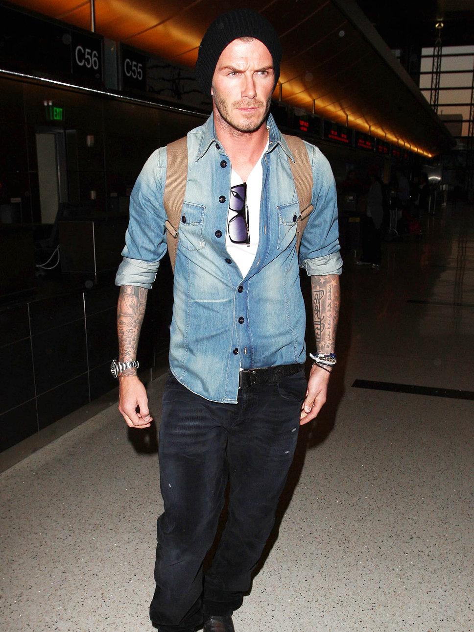Foi  lá por 2010 que ele se consolidou como um cara bem vestido de verdade.  Jeans e acessórios pontuais viraram uma marca registrada.