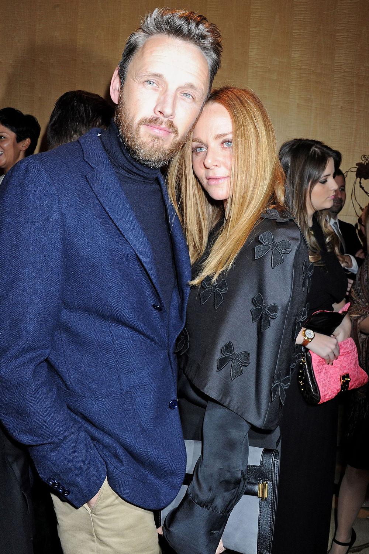 2#Stella McCartney e Alasdhair Willis. Filha de ex-Beatle e estilista de renome internacional. Só por aí temos uma noção do que se trata esse casal. Como se isso não fosse suficiente, Stella resolveu se juntar com Alasdhair, um cara que é puro estilo.