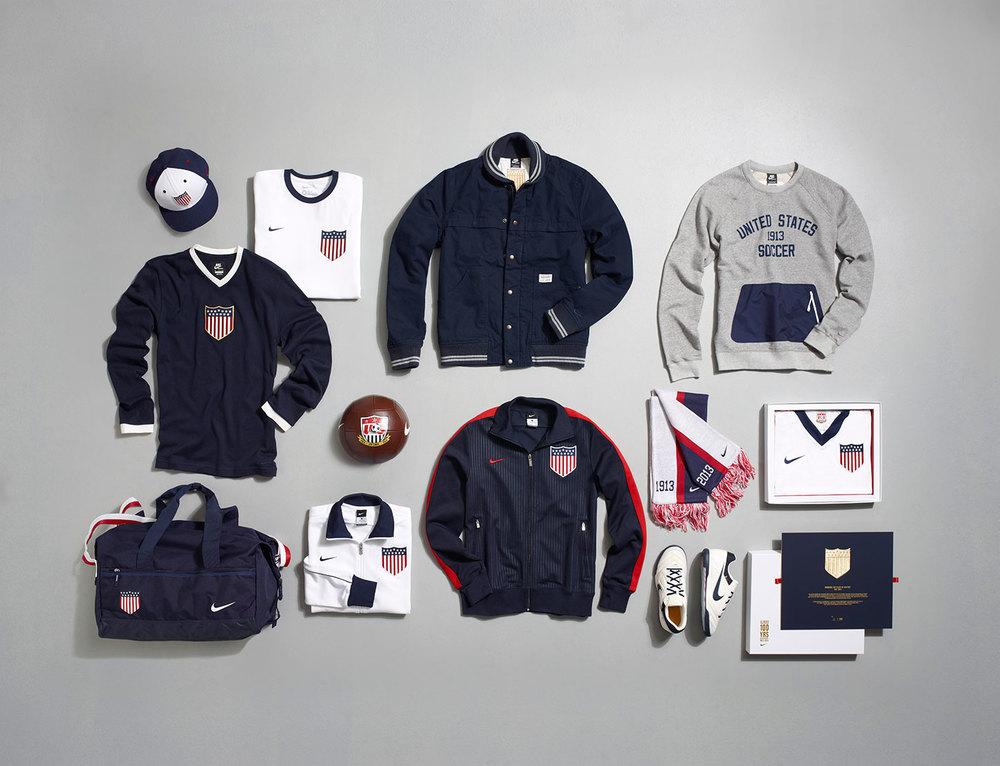 Essa é a coleção 2013 criada pela Nike para a seleção americana de futebol.
