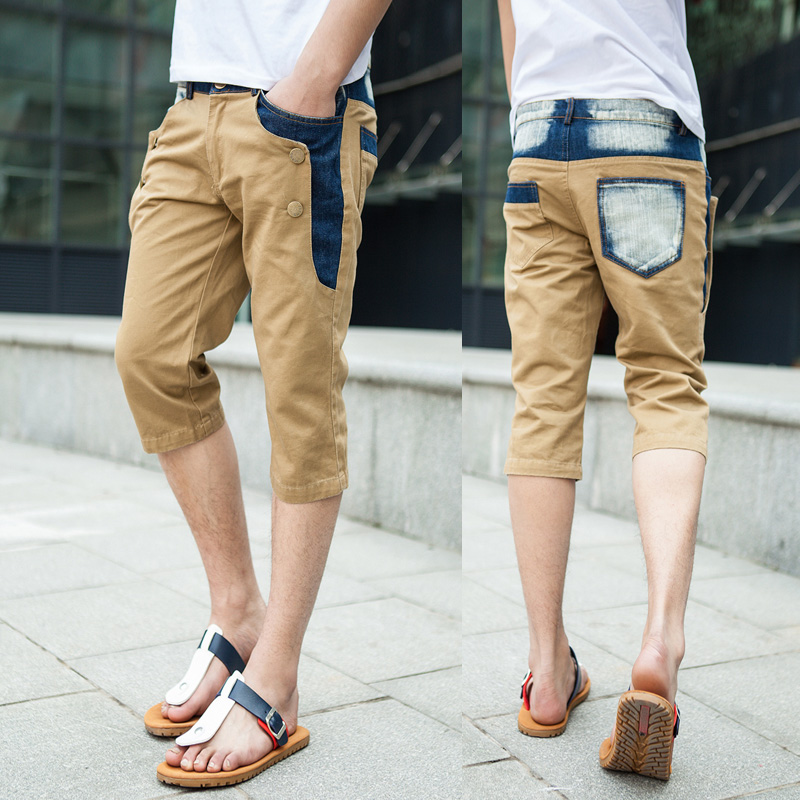 Mens-shorts-capris-Water-wash-Patchwork-Denim-Casual-Korean-style-Casual-Drop-shipping-1-Piece-2013.jpg