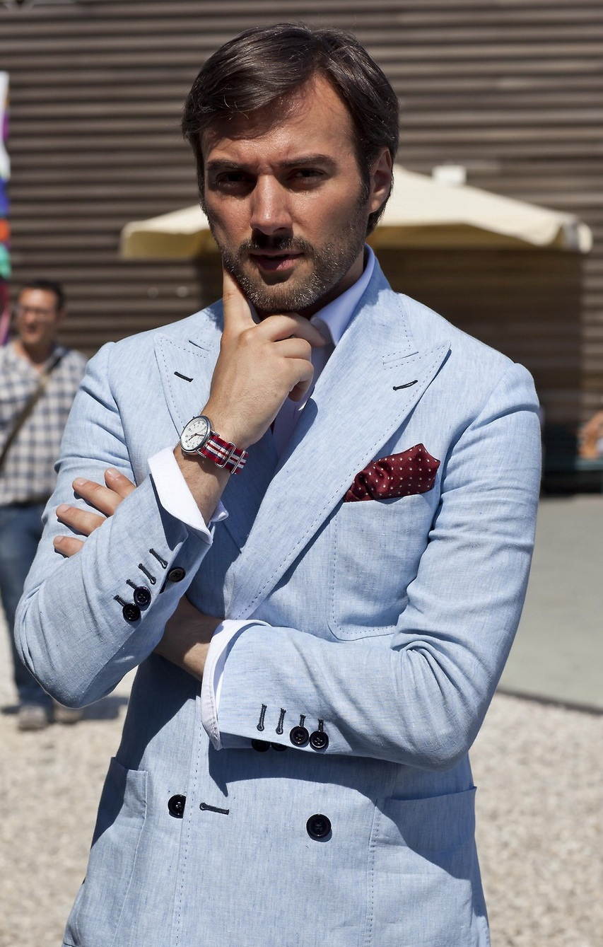 The-light-blue-summer-suit-double-breasted-with-patch-pockets-heavy-pick-stitching.jpg
