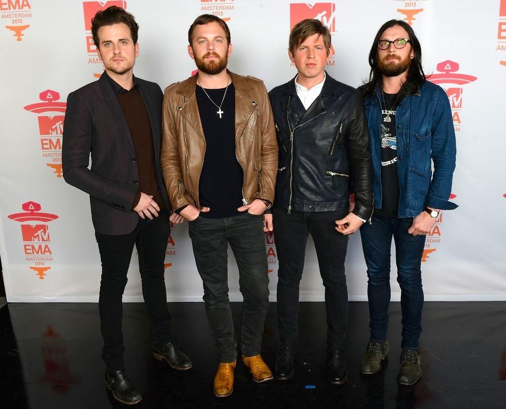 Responsáveis pelo bom figurino da premiação, os quatro integrantes do Kings of Leon seguem mandando bem no visual country.