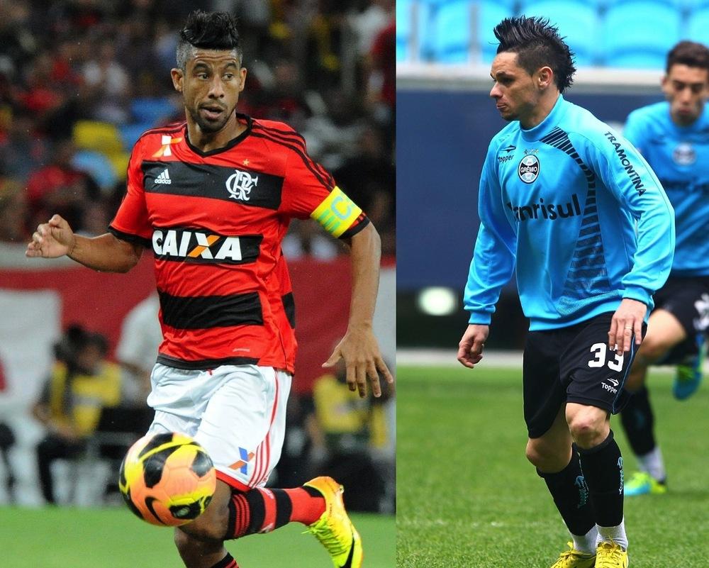 Léo Moura - Flamengo; Pará - Grêmio e metade dos jogadores do campeonato