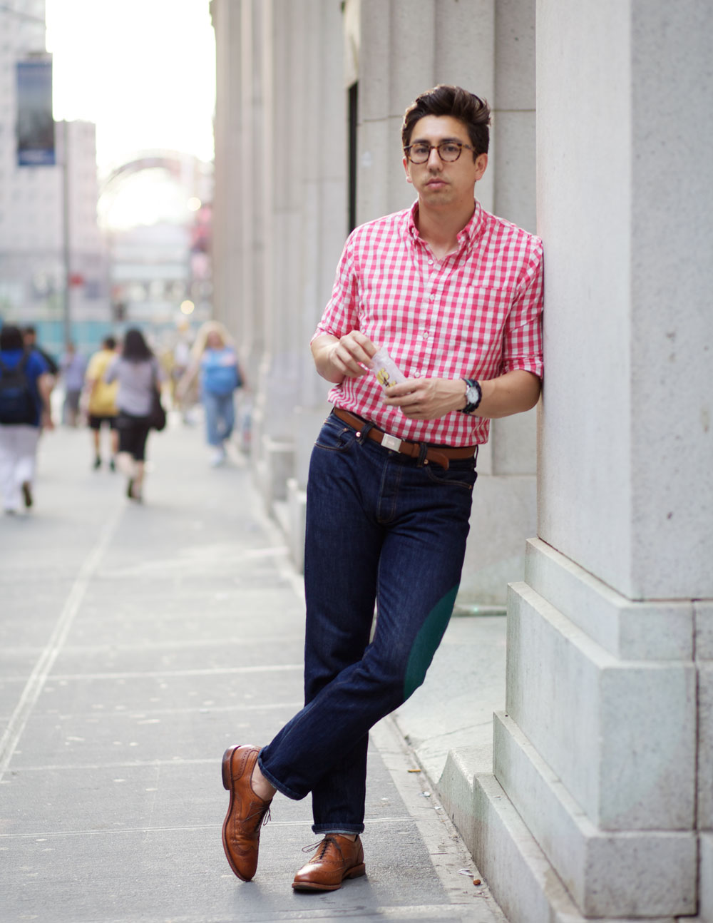 red-gingham-shirt-fred-streetstyle-NYC-fashion-men.jpg