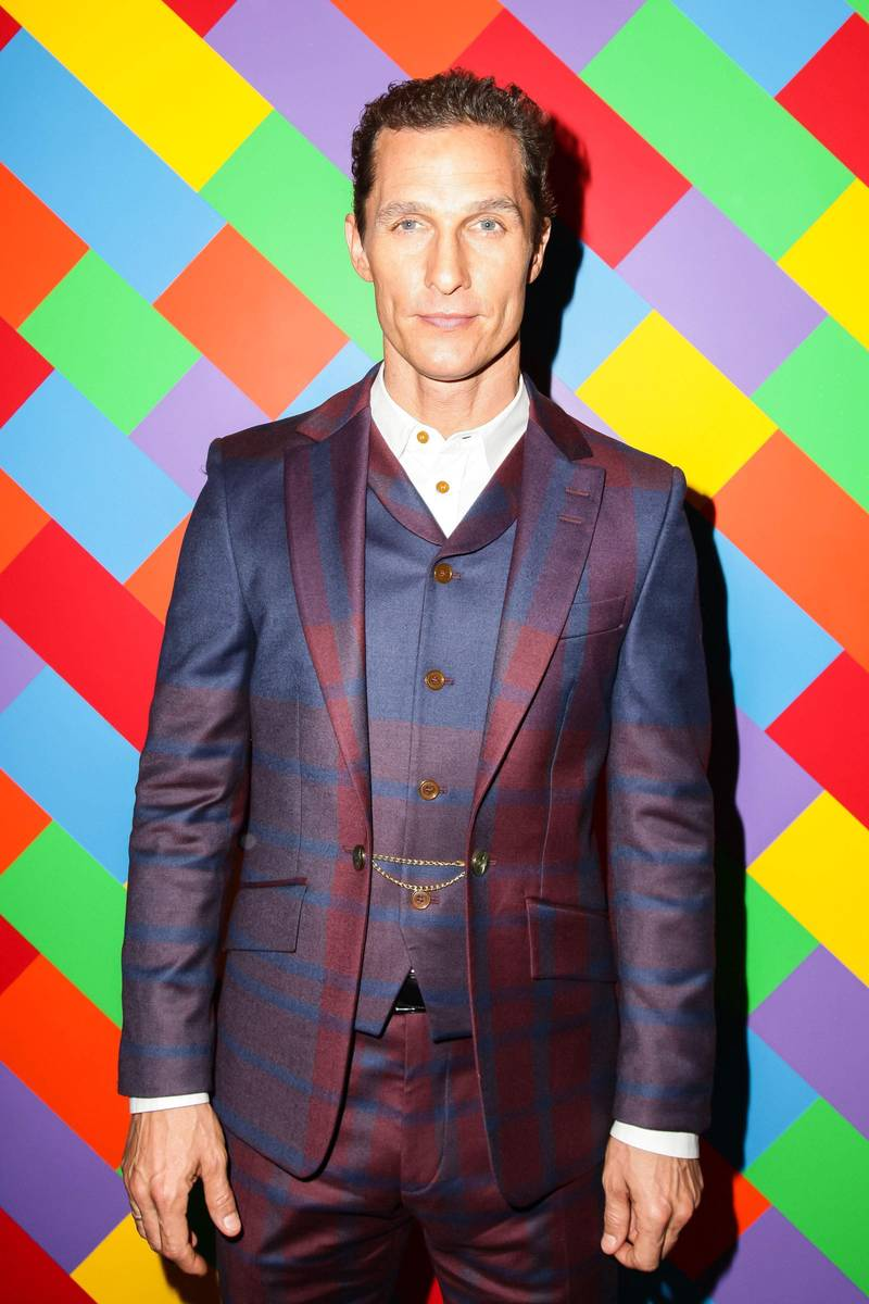 Matthew McConaughey. Eleito um dos homens do ano pela GQ americana, Matthew fez de 2013 o seu ano. Papéis memoráveis no cinema e uma reformulada no guarda-roupas de dar inveja.
