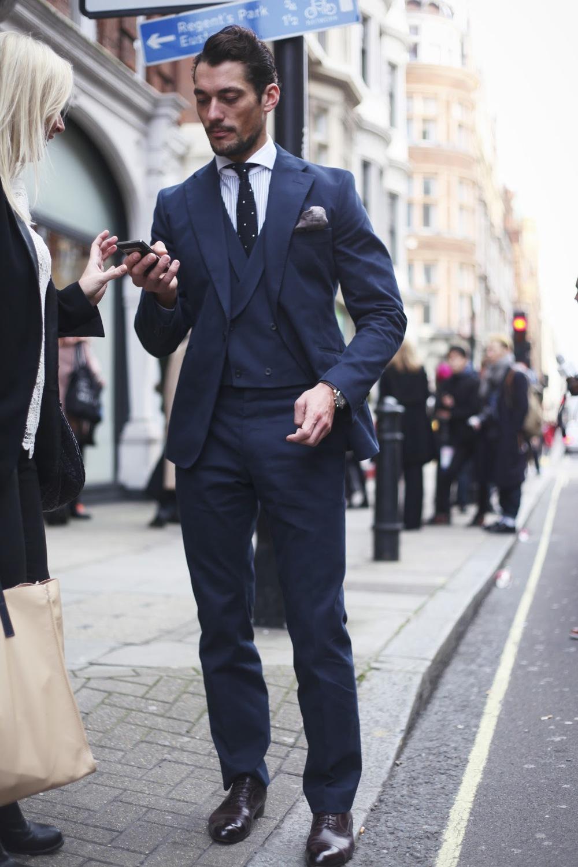 David Gandy. Se muitos da lista só apareceram para o mundo em 2013, David Gandy é destaque faz tempo. Há alguns anos considerado um dos caras mais elegantes do Reino Unido, o modelo só precisou manter o nível dos outros anos.