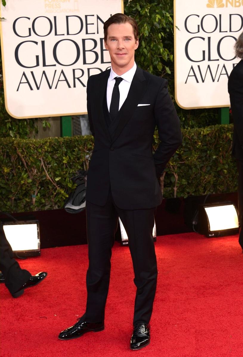 Considerado por muita gente (inclusive por nós) Benedict Cumberbatch soube manter a média de suas aparições em público. Desfilando com um terno de três peças, Bennedict foi um dos mais elegantes da noite.