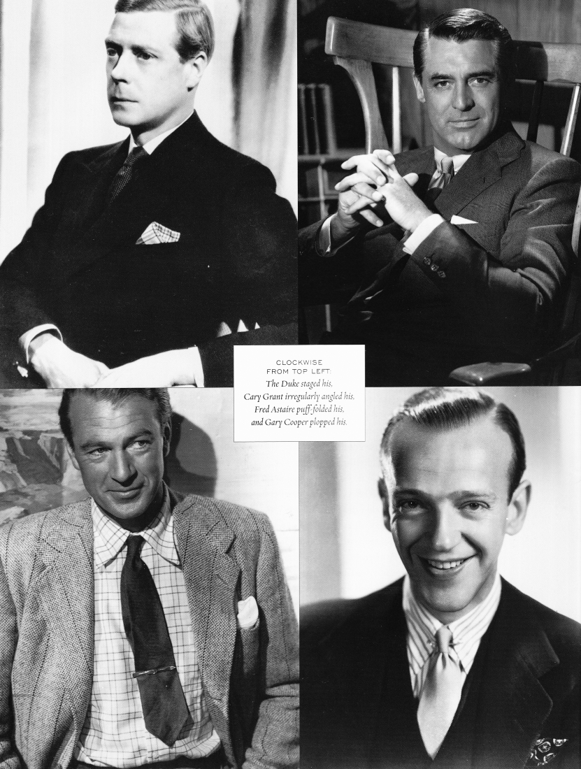 Flusser, Alan. Dressing The Man. Harper Collins, 2002. Print., Illstd. News, p214, duke of windsor, cary grant, gary cooper, fred astaire.jpg