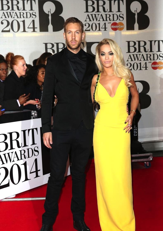 Nosso mais recente casal referência segue fazendo bonito por aí. Falando apenas de Calvin Harris, o preto com preto funcionou muito bem. O amarelão de Rita Ora se saiu bem pelo belo contraste.