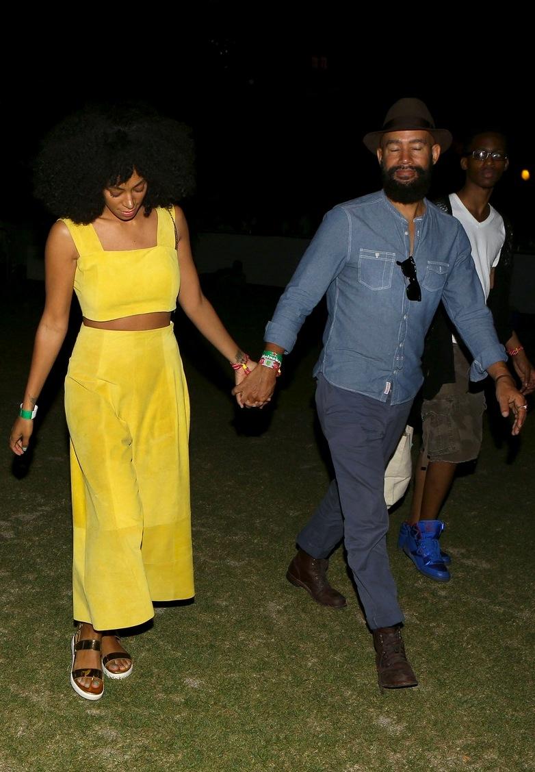 Um dos casais mais elegantes da atualidade, Solange Knowles e Alan Ferguson, esbanjaram a já esperada elegância.