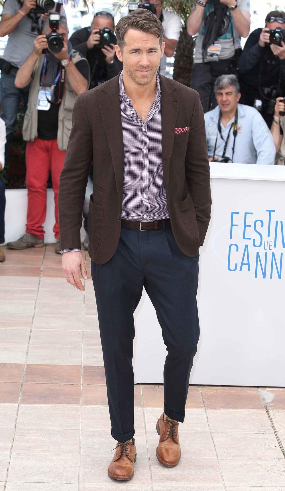 Eleito um dos destaques dessa edição, Ryan Reynolds mostra, cada vez mais, que o nome Ryan a frente, significa 'estilo'. Discreto, bem combinado e com os acessórios ideais, o rapaz foi só aplausos.