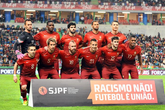 6 - Portugal.  Outra que apostou no degradê foi a seleção portuguesa. Uma aposta que deu ao uniforme de Cristiano Ronaldo e companhia uma cara moderna e elegante, sem exageros.