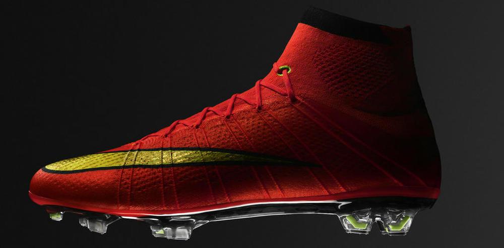 Nike Mercurial Superfly IV  Também entrando na moda do cano alto, a popular Mercurial promete a velocidade de sempre aliada a mais estabilidade devido ao cano mais alto. Cristiano Ronaldo será o grande astro calçando esse modelo.