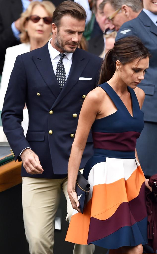 O casal Beckham.