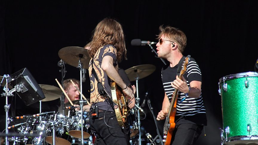 Os americanos do Imagine Dragons fizeram bonito, como esperado. Com um tradicional visual indie rock, o quarteto foi um dos destaques dessa edição.