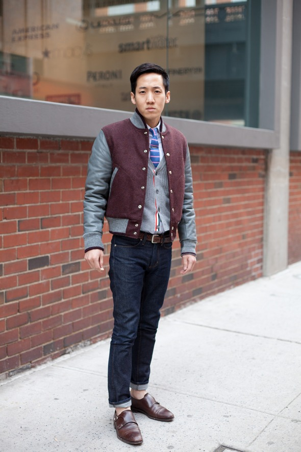 mens-street-style-new-york-varsity-jacket-tie-bar-tie-brown-double-monkstrap-shoes-asian-fashion-rolled-up-jeans-milk-studio.jpg