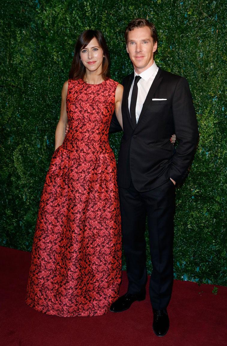 Outro dos mais bem vestidos do momento, Bennedict Cumberbatch, fez bonito ao apostar no simples para a premiação. Seu cuidado com o corte do terno continua fazendo toda diferença.