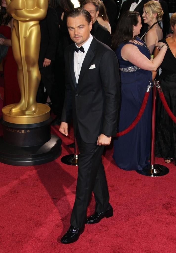 DiCaprio é DiCaprio. Simples assim. A perfeita personificação do homem clássico. Sem mais.