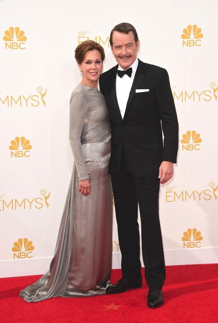 Grande vencedor na categoria de Melhor Ator, Bryan Cranston mostrou o carisma e a elegância de sempre para receber o seu 5º Emmy da carreira. Destaque para o bigode caprichado.