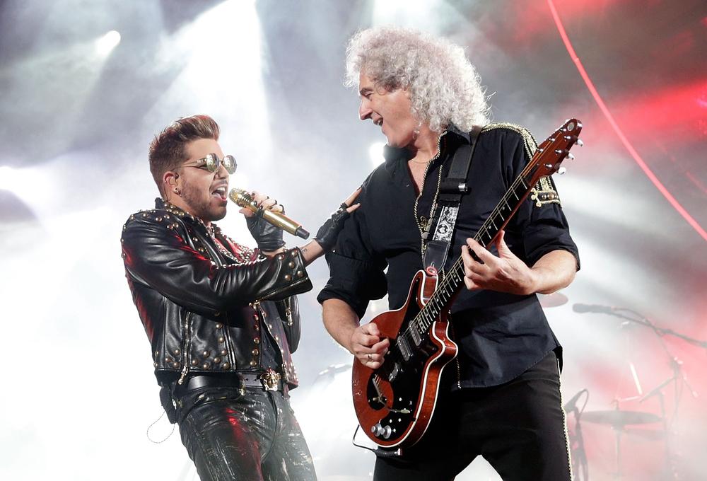 Sem dúvida uma das atrações mais esperadas de todo o festival, o Queen foi um dos destaques. Mas apenas em termos musicais. O vocalista, Adam Lambert, mostrou que apesar da ótima voz, ele também tem um gosto bastante exagerado para roupas.