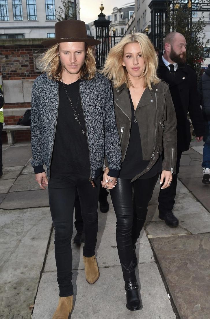 Ellie Goulding e Dougie Poynter  Saindo do cinema e entrando na música, temos Ellie e Dougie. Outro casal que respira fortes referências  hippies ao esbanjar elegância e originalidade com figurinos tanto para o palco quanto para passeios no parque num domingo de sol.