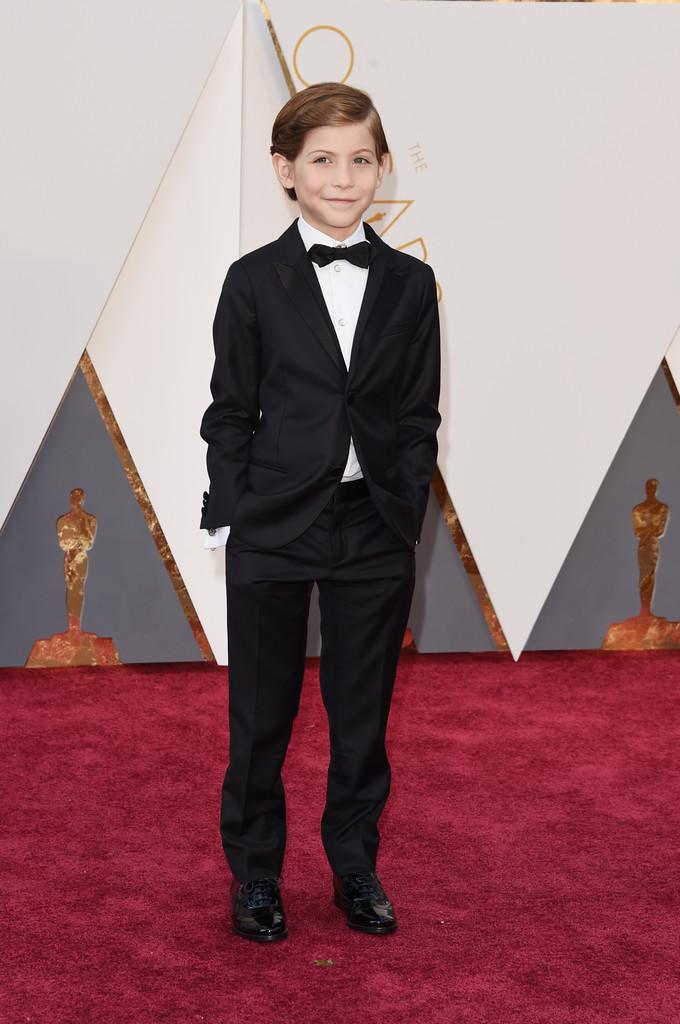 Jacob Tremblay foi uma das principais atrações da noite de ontem. Simpático, carismático e, para um menino de 9 anos, muito bem vestido.