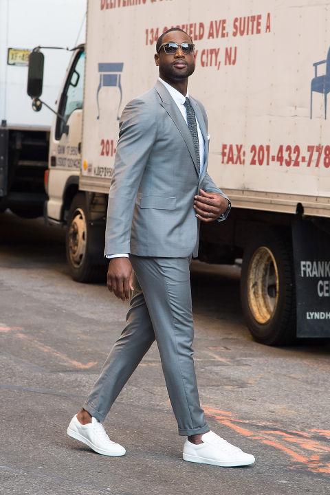 Dwyane Wade Também lembrado como um dos nomes mais fortes da moda dentro da NBA - tendo o nome citado inclusive neste blog, Wade merece muito respeito também nesse aspecto.