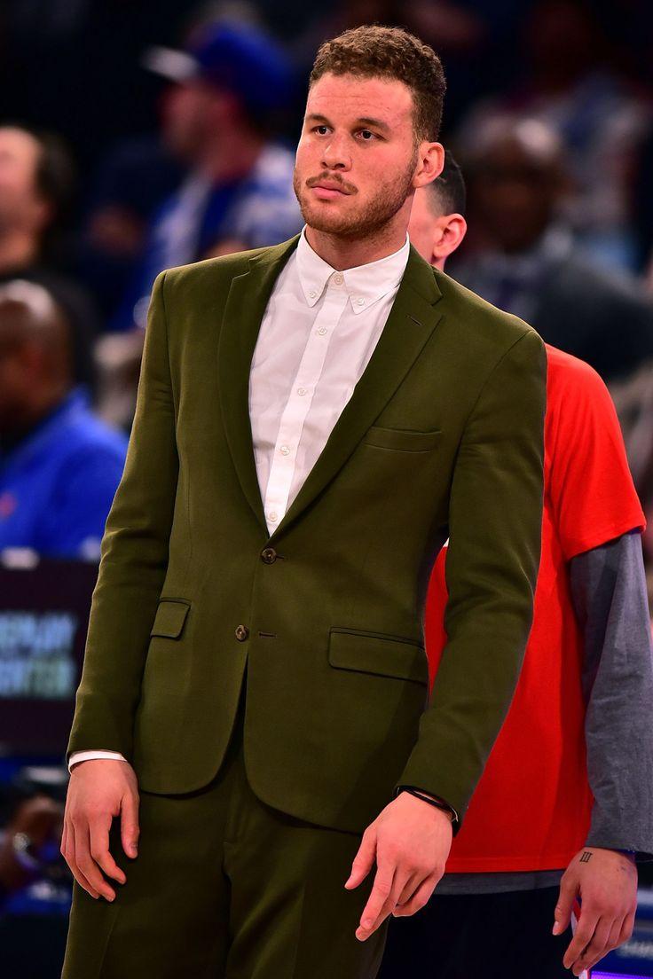 Blake Griffin Capa de revista de moda masculina e dono de figurinos inspirados quando não atua dentro da quadra, Blake merece muitos elogios. Sabedoria para combinar as peças e bom gosto na hora de usar as referências certas e se inspirar.