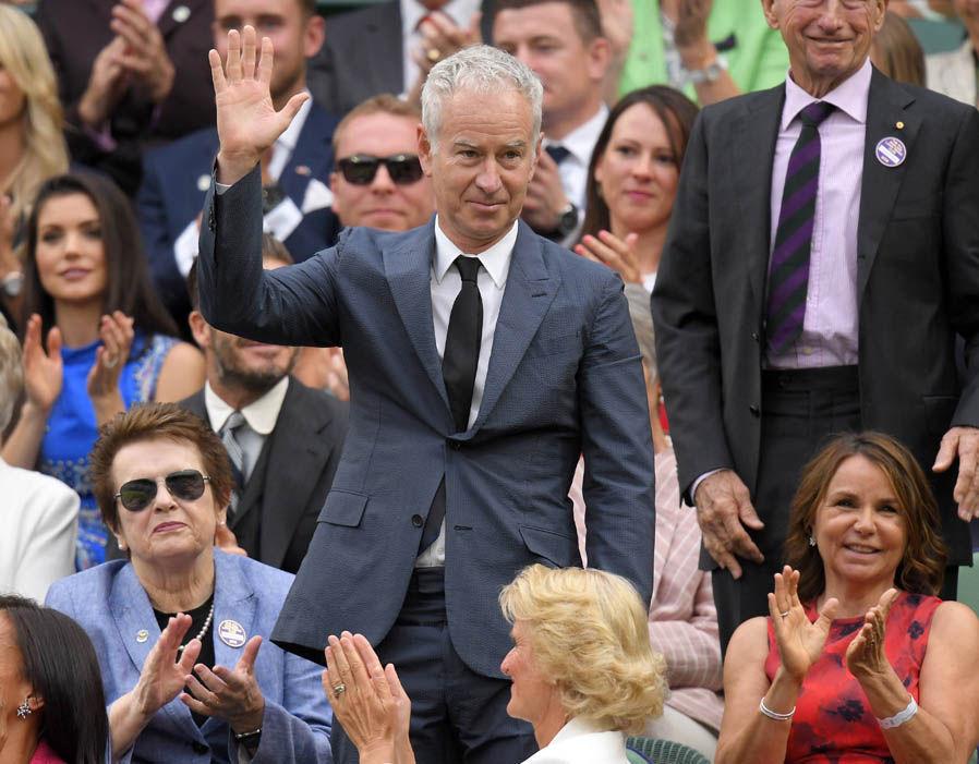 O ex-tenista John McEnroe