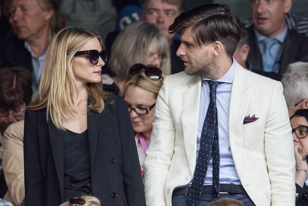 O casal Olivia Palermo e Johannes Huebl