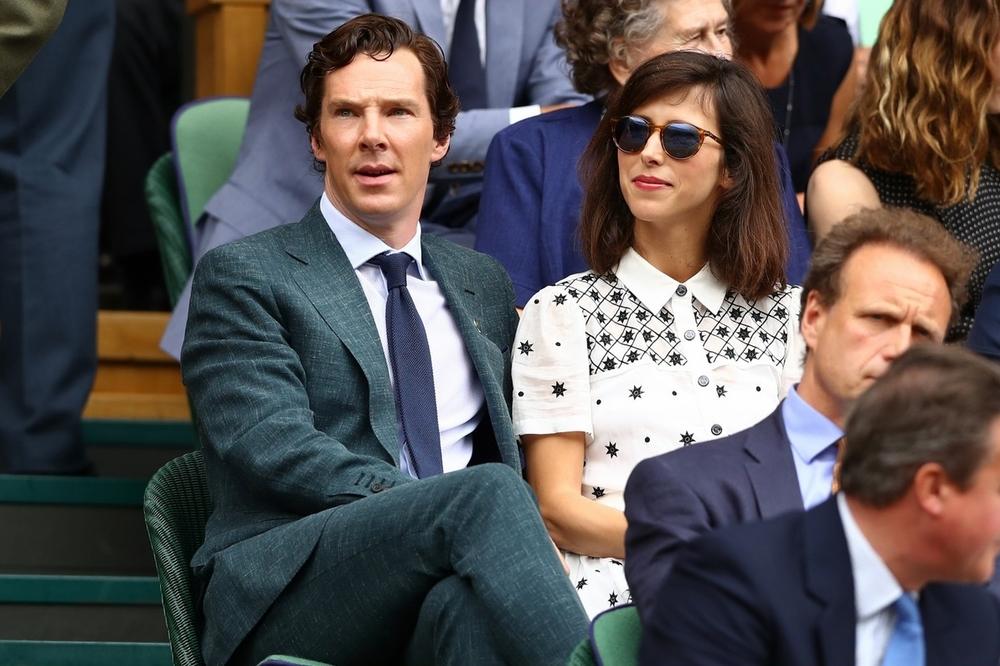 Benedict Cumberbatch e a mulher Sophie Hunter