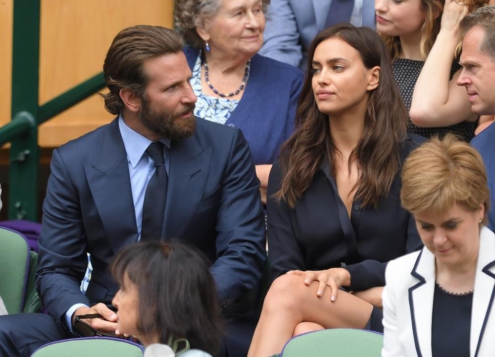 Bradley Cooper e a namorada Irina Shayk