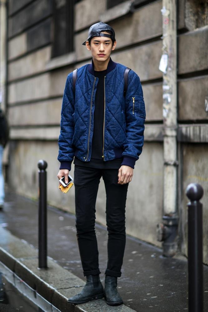 street-style-paris-fashion-week-2014-quilt-jacket-leather-cap.jpg
