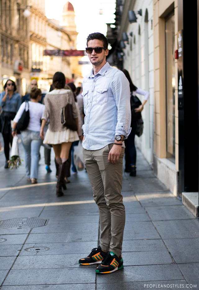 guys-casual-street-style-look-denim-shirt-chinos-adidas-sneakers-peopleandstyles-1.jpg