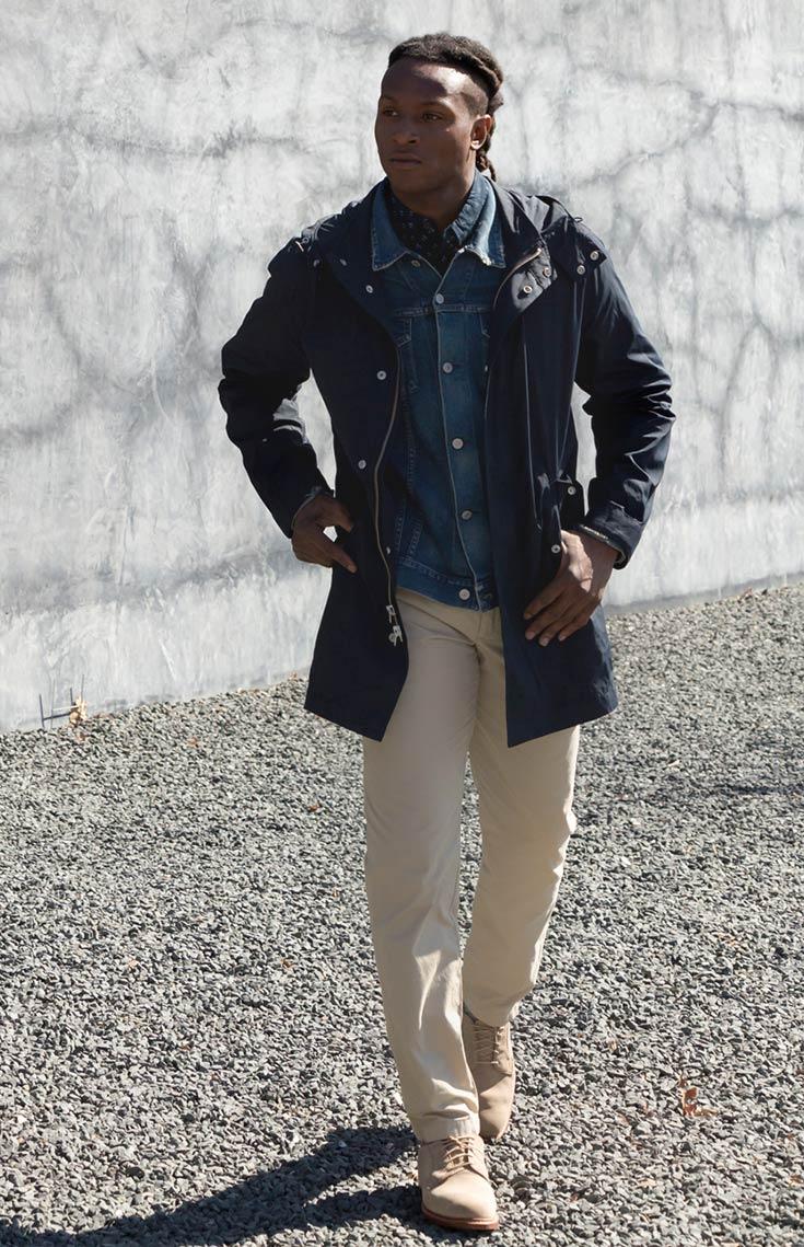 DeAndre Hopkins Outro jovem da lista. Calouro há poucos anos atrás, o  wide receiver do Houston Texans já coleciona inspirados momentos também em termos de elegância. Páginas em revistas de moda e até modelagem para algumas grifes. Sem contar o bom gosto para se vestir fora dos campos. Olho nele.