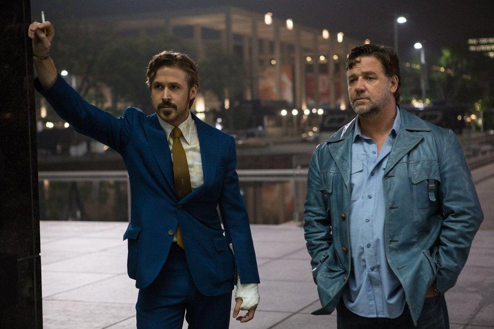 Dois Caras Legais Los Angeles, 1977. Russel Crowe e Ryan Gosling. Já temos motivos suficientes para acreditar no filme, certo? Somado a isso, temos uma história de investigação com ótimas doses de comédia e até ação. Bom divertimento, grandes atores e um ótimo figurino.
