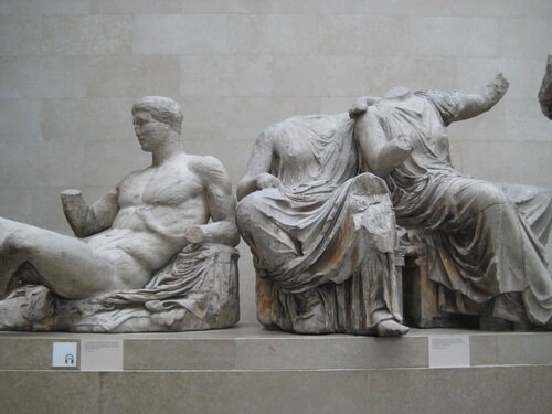 Parthenon sculpture at the British Museum