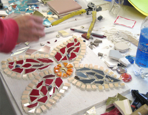 Introduction to Ceramic Tile Mosaics - Gallery — Institute of Mosaic Art