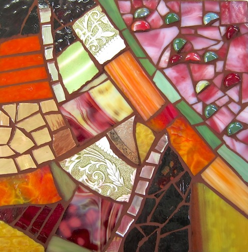 Introduction to Glass Mosaics - Student project