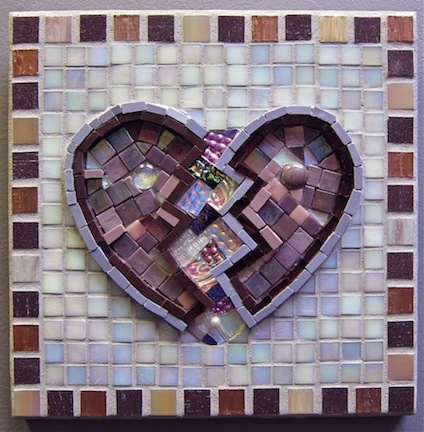 Broken Purple Heart by Charla Gabert