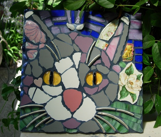Created by LeeAnn Dickson in Mosaic Portraiture class