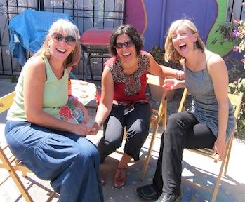 Lillian Sizemore, Nadia Khastagir and Erin Rogers