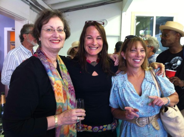 Sonia King, Laurel True and Ellen Blakeley