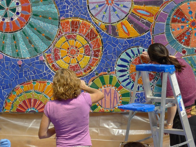 Mosaic Mural Making Intensive with Laurel True