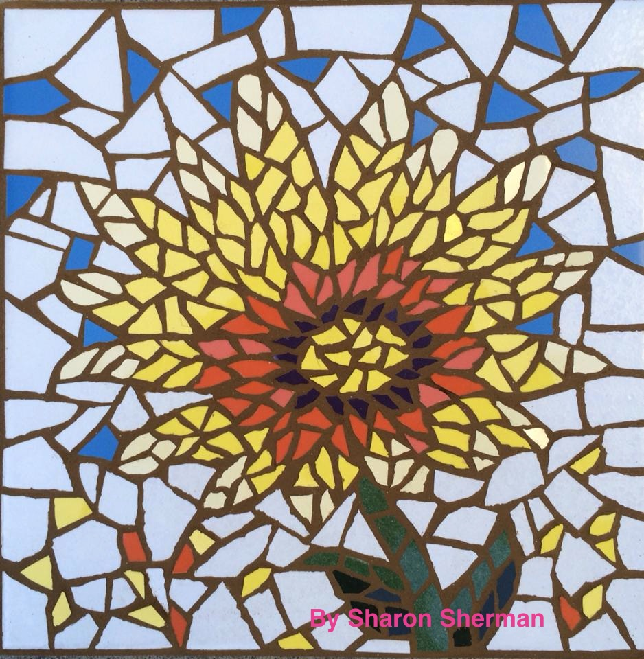 Introduction to ceramic tile mosaics gallery institute for Mosaic tiles for craft