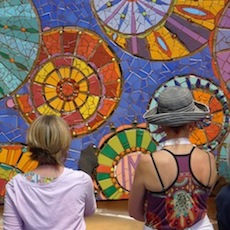 VA: Laurel True - Mosaic Mural Making Intensive