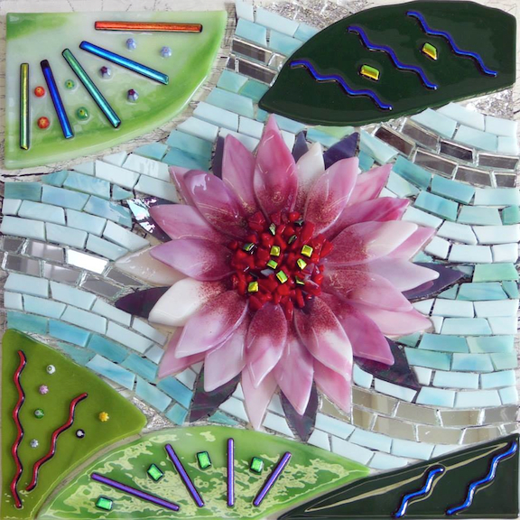 By Fused Glass for Mosaics student Yasumi
